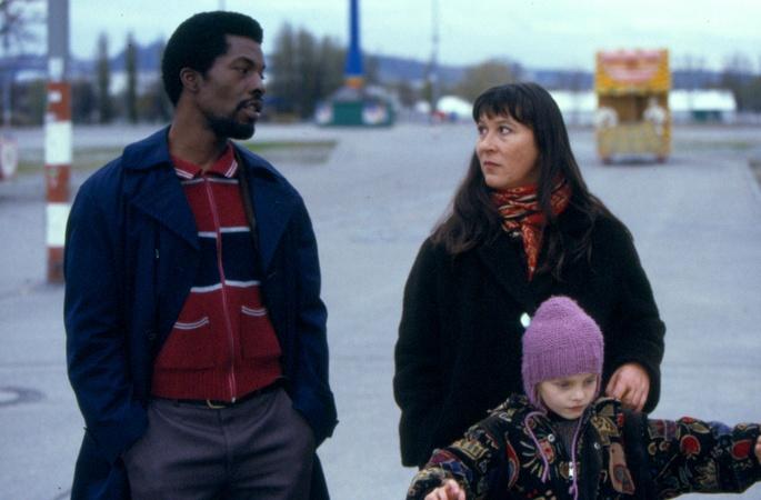 Eva Mattes & Isaach de Bankolé in OTOMO, Frieder Schlaich, 2000, 35mm, 82'
