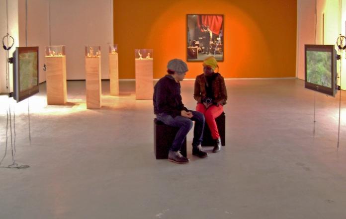 Satch Hoyt und Fatoumata Diabaté in der ifa-Galerie Stuttgart
